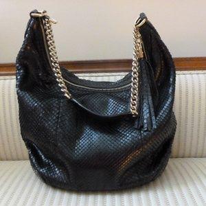 Gucci Bags - Gucci Soho Chain Python Hobo Shoulder Bag